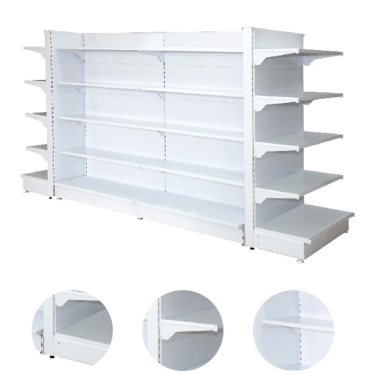 Gondola shelves for supermarket & retail storage