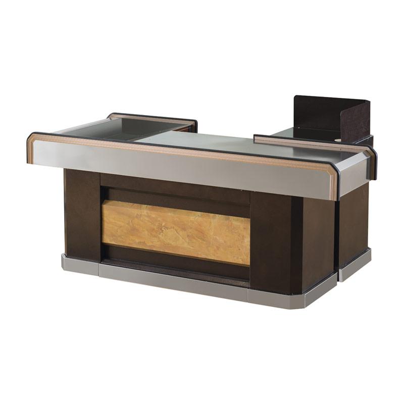 Convenient store money cashier desk