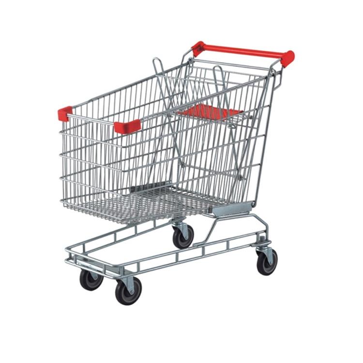 Australia style zinc shopping trolley
