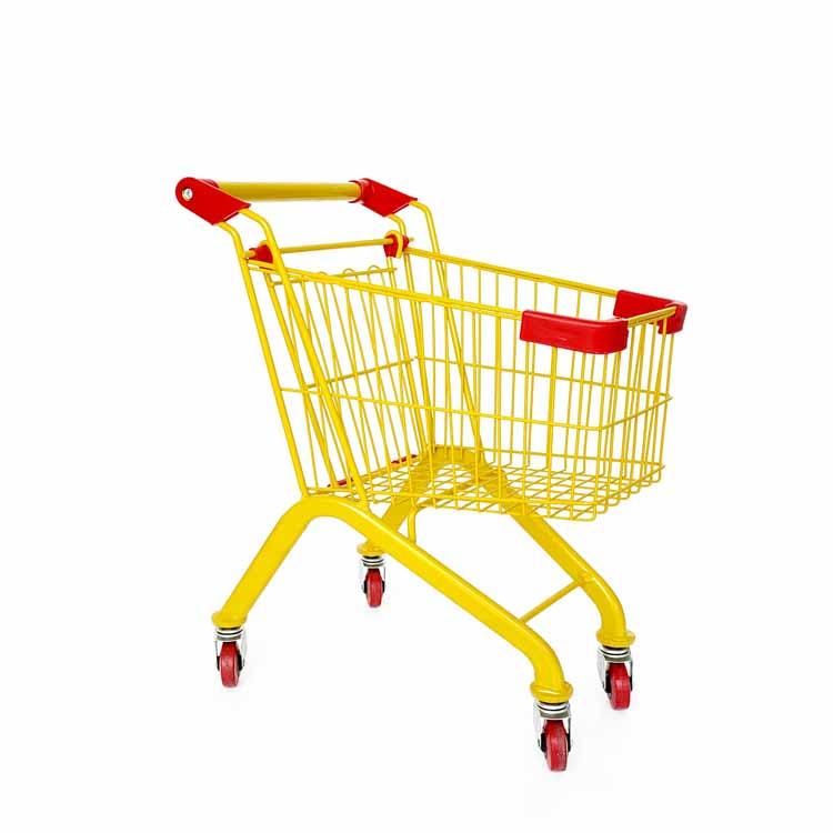 Kid's mini grocery trolley